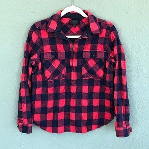 J. Crew Buffalo Check Shirt Jacket